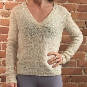 Sheer sequin UO sweater